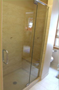 aging in place remodeling - accessible shower