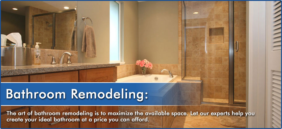 bathroom contractor - bathroom remodeling